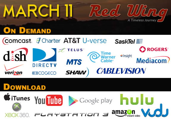 Red Wing Movie - On Demand March 11, 2014
